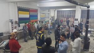 Yasağı delip, canlı yayın yaptılar Depodaki eğlenceye polis baskını