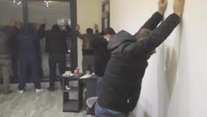 Manisada villaya kumar baskını: 19 kişiye 67 bin lira ceza kesildi