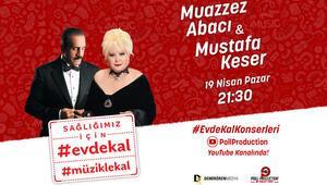 Muazzez Abacı ve Mustafa Keser bu kez canlı yayında buluşacak