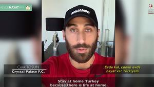 Herkesten tek bir mesaj var Evde kal Türkiye