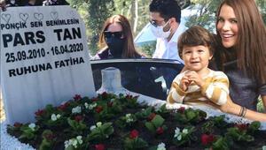 Ebru Şallı ve Harun Tan'ın evlat acısı... Parsın mezar taşı kahretti..