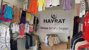 Hayırseverler, ihtiyaç sahipleri için mağaza açtı
