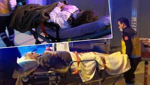 Belediye Başkanı ve eşine silahlı saldırı Ayaklarından yaralandılar…