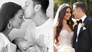 Mesut Özil ve eşi Amine Gülşenin kızları Edaya 5 milyonluk reklam teklifi