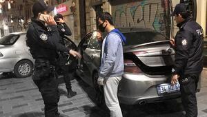 Sagopa ile başladı cezayla bitti... İstiklal Caddesinde ilginç anlar