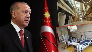 Son dakika haberleri: Cumhurbaşkanı Erdoğandan müjde: 8 tanesi daha hizmete alınacak