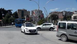 Hatayda yasağın ardından trafik yoğunluğu oluştu