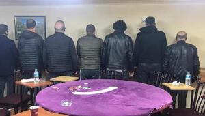 Ankarada kumar baskını: 13 kişiye 56 bin 875 lira ceza kesildi