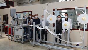 Milli Eğitim Bakanlığı, N95 standardında maske makinesi üretti