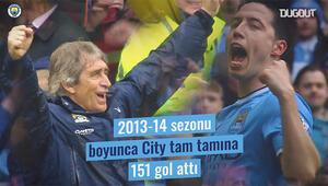 Fenerbahçe ile anılan Pellegrininin M.City yıllarına bir de böyle bakın