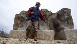 3200 yıllık su anıtının gönüllü bekçisi