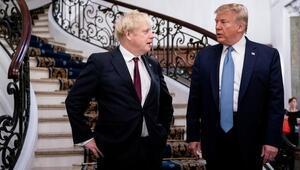 İngiltere Başbakanı Johnson, ABD Başkanı Trumpla görüştü