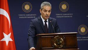 Dışişleri Sözcüsü Aksoydan Yunanistanın Türkiyeye yönelik eleştirilerine tepki