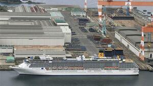 Japonyanın Nagazaki limanındaki İtalyan yolcu gemisinde Corona Virüs tespit edildi