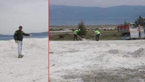 Salda Gölündeki görüntü tepki çekmişti İşte son durum