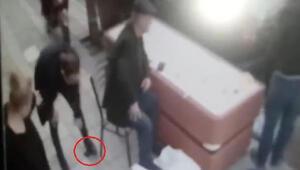 Cüzdan hırsızlığı kamerada