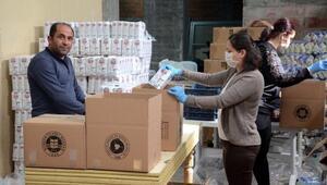 Borsadan 1000 aileye gıda yardımı
