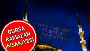 Bursada ilk oruç saat kaçta 2020 Ramazan imsakiyesi: Bursada iftar ve sahur saat kaçta