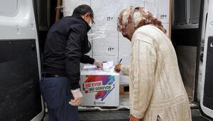 Çankaya Belediyesi, Ramazan kolisi dağıtımına başladı