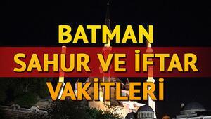 Batman İmsakiyesi 2020: Batman'da sahur ve iftar saat kaçta İşte iftar ve sahur vakitleri