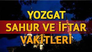 Yozgat sahur, imsak vakti: Yozgatta sahur vakti ve iftar saat kaçta 2020 İmsakiye