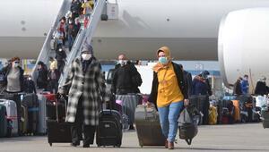 Hollandadan 349 Türk vatandaşı yurda getirildi