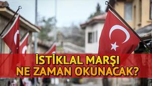 İstiklal Marşı saat kaçta, ne zaman okunacak 23 Nisan'da balkonlarda İstiklal Marşı coşkusu