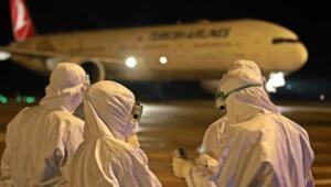 Ürdün'den getirilen 166 Türk, yurtlara yerleştirildi