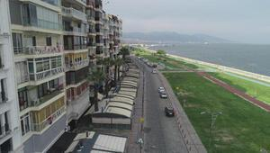 İzmirde bayram sabahı sessiz
