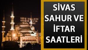 Sivas 2020 Ramazan imsakiyesi: Sivasta ilk sahur saat kaçta 2020 Sivas sahur ve iftar saatleri