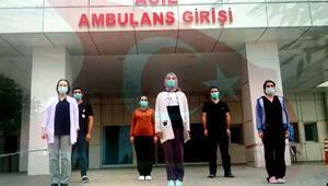 Ercişte sağlık çalışanlarından 23 Nisan klibi