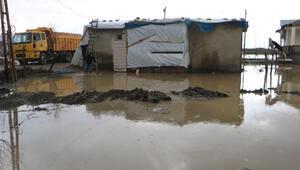 Yüksekovada sağanak çok sayıda evde su baskınına neden oldu