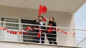 Ispartada site sakinleri bayramı kutladı