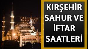 Kırşehir sahur ve iftar saatleri belirlendi - Kırşehirde ilk sahur saat kaçta 2020 imsakiye takvimi