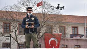 Malatyada dronlu sokağa çıkma yasağı uyarısı