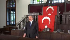 TBMM Başkanından TRT EBA TVde 100üncü yıl dersi
