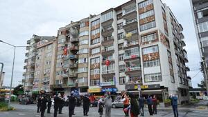 Trabzonda, sokaklarda 23 Nisan coşkusu