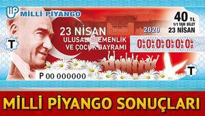 23 Nisan Milli Piyango sonu?lar? belli oldu