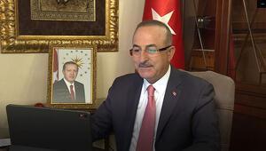 Bakan Çavuşoğlu, koltuğunu şehit oğluna devretti