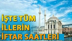 İstanbul Ankara İzmir iftar vakti ve imsakiyesi 11 ayın sultanı Ramazan geldi - İşte tüm illerin iftar saatleri 2020