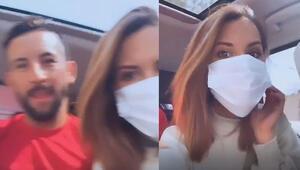 Isla ve eşi Gala Caldirola karantinadan çıktı İlk paylaşım...