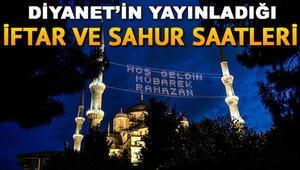 Hakkari ve Şırnakta ilk iftar saat kaçta Hakkari/Şırnak 2020 Ramazan imsakiyesi