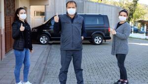 Selda hemşire, babası corona virüs tedavisi görürken şifa dağıtmaya devam etti