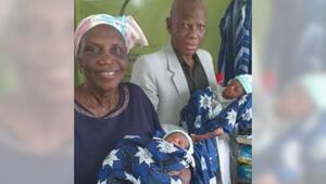 68 yaşında ikiz bebek doğurdu