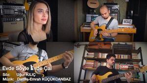 Evlerinde orkestra kuran öğretmenlerden müzik kanalı