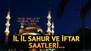 Tüm illerin Ramazan İmsakiyesi 2020: Sahur saat kaçta, ne kadar kaldı İstanbul, Ankara, İzmir sahur vakti ne zaman