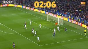 Lionel Messi Chelseayi 127 saniyede avlamıştı