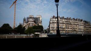 Notre-Dame inşaatı yeniden başladı
