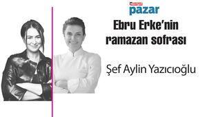 Şef Aylin Yazıcıoğlu, Ebru Erkenin konuğu