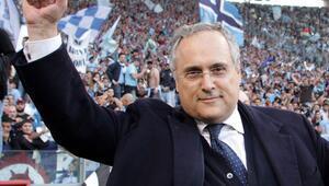 Lazio Başkanı Lotitodan ilginç corona virüs tavsiyesi: Kazanan şampiyon olsun